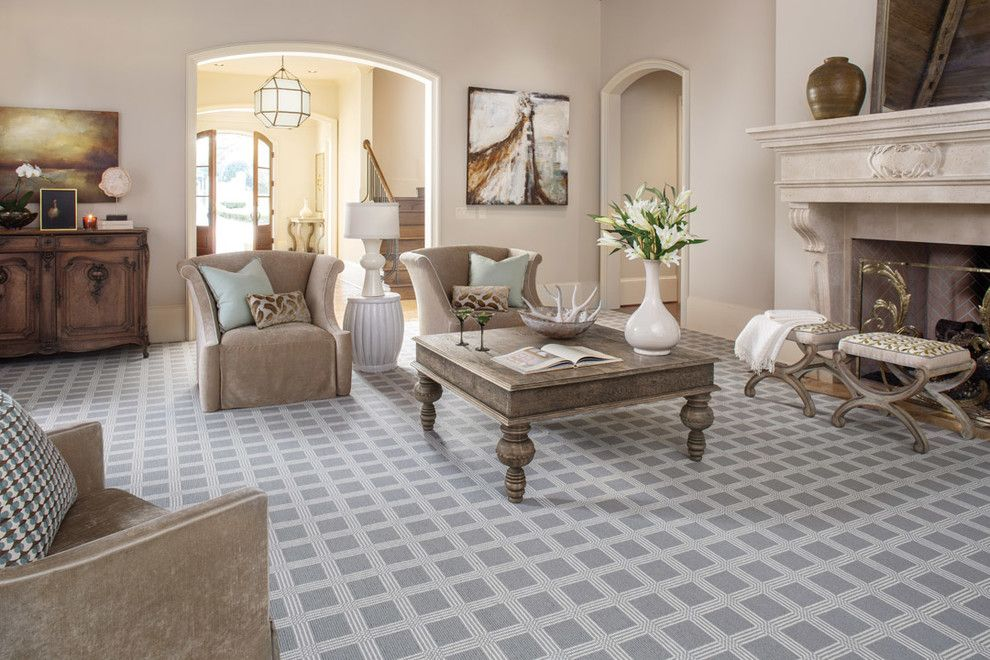 Abc Carpet Outlet for a Transitional Living Room with a Karastan and Karastan   Carpet by America's Carpet Outlet Inc.