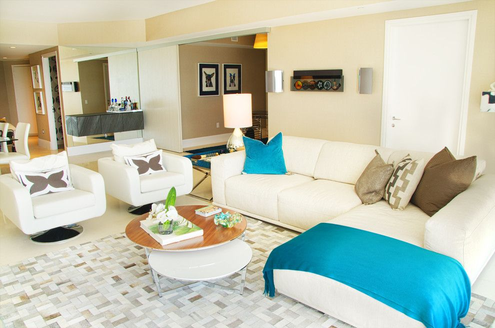 Ace Hardware Miami Beach for a Contemporary Living Room with a Contemporary and Icon South Beach by 2id Interiors