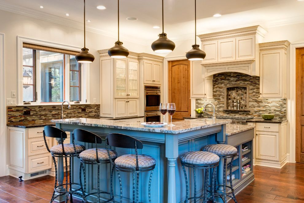 Acme Glass for a Traditional Kitchen with a Biltmore and Timeless European Charm by Acm Design