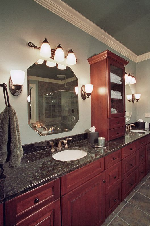 Acme Glass for a Traditional Spaces with a Bathroom Flooring and Bathroom Designs by Acm Design