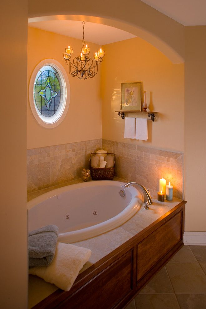 Acme Glass for a Traditional Spaces with a Master Bathroom and Bathroom Designs by Acm Design