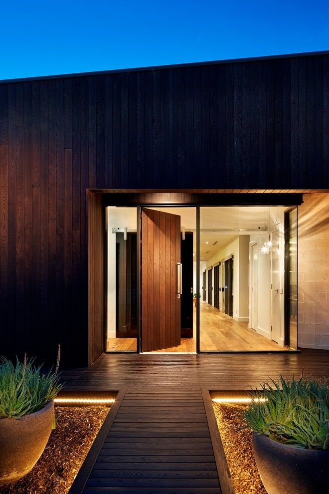 Agway Energy for a Contemporary Entry with a Glazing and Masefield Heights by Eco Edge Architecture + Interior Design