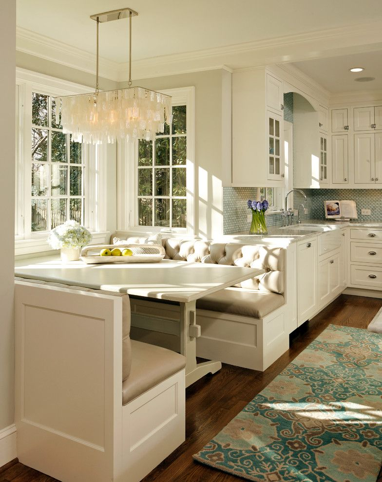 Aho Construction for a Traditional Kitchen with a Cup Pulls and Deluxe in Alexandria by Erin Hoopes