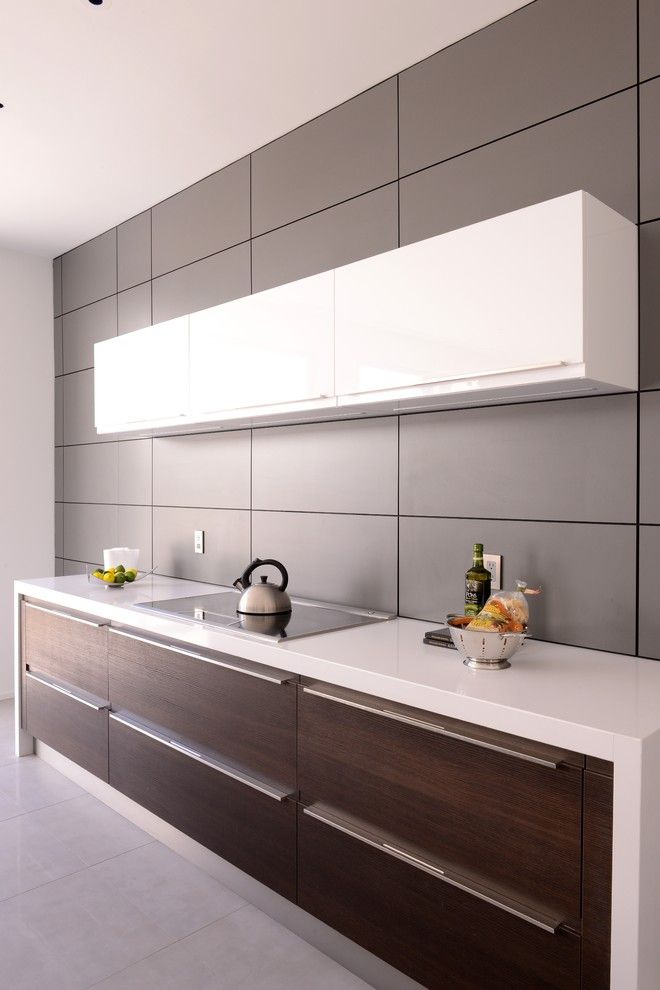 Aia Houston for a Contemporary Kitchen with a Bontempi Cucine and Bricker Kitchen by Cantoni