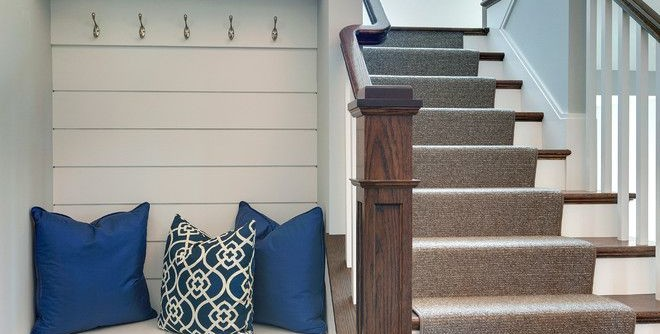 Airbase Carpet Mart for a Traditional Staircase with a Windows and 2015 Midwest Home Luxury Home #6 by Spacecrafting / Architectural Photography