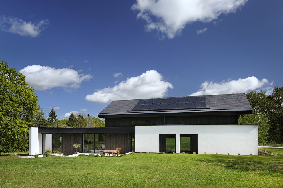 Airco Mechanical for a Contemporary Exterior with a Exterior Facade and Brackenhurst by Pad Studio