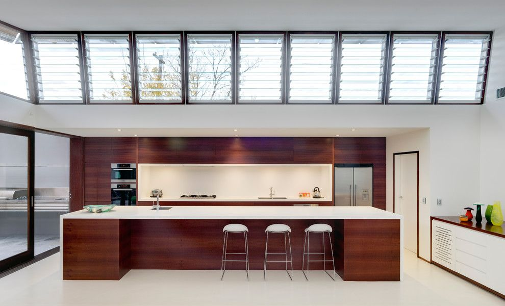 Airco Mechanical for a Contemporary Kitchen with a Sydney and Queens Park by Cplusc Architectural Workshop
