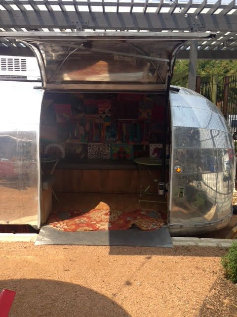 Airstream Restoration for a  Spaces with a  and 50 Airstream Paser for Front Street Burner by Vintage Travelers Airstream Restoration