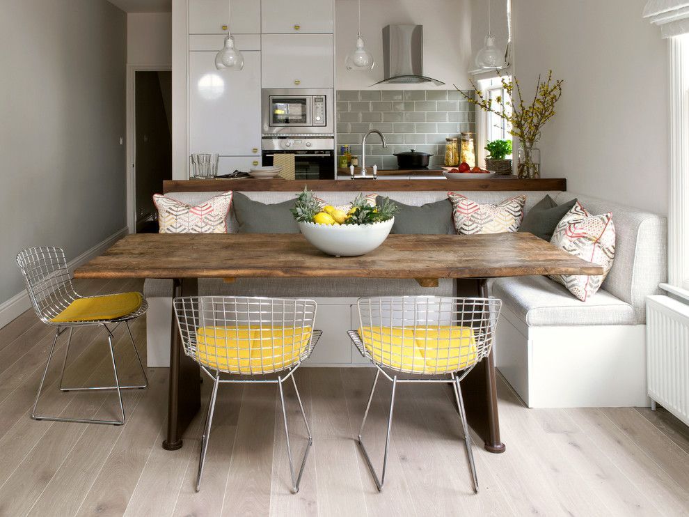 Alabama Furniture Market for a Contemporary Dining Room with a Kitchen Diner and Putney, Loft Conversion by Hannah Brown