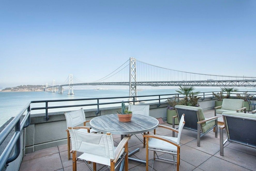 Alden San Francisco for a Traditional Deck with a Great View and San Francisco Penthouse by Stroub Construction Inc.