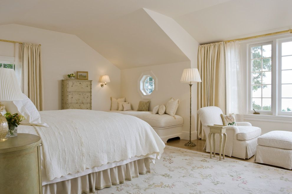 Alexa Hampton for a Traditional Bedroom with a Feminine and Selkirk Ledge by Elizabeth Brosnan Hourihan Interiors