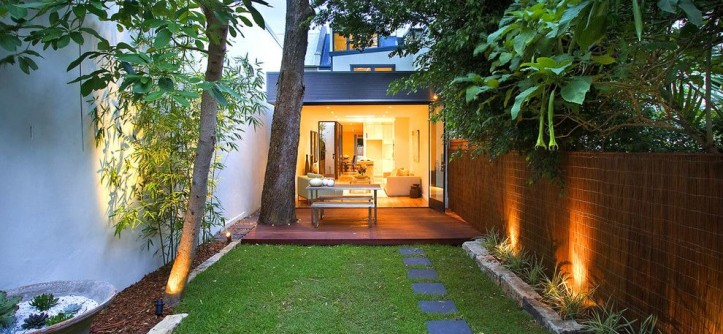Allied Fence for a Contemporary Landscape with a Landscaping and Contemporary Garden by orbisdesign.com.au