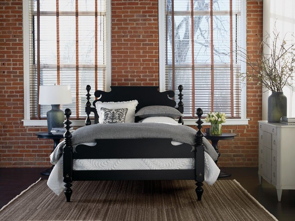 Alltex for a Traditional Bedroom with a Round Side Tables and Ethan Allen by Ethan Allen