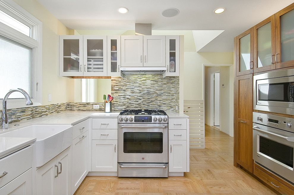 Amaron for a Contemporary Kitchen with a Kitchen Hardware and Warren Drive 2 by Rossington Architecture