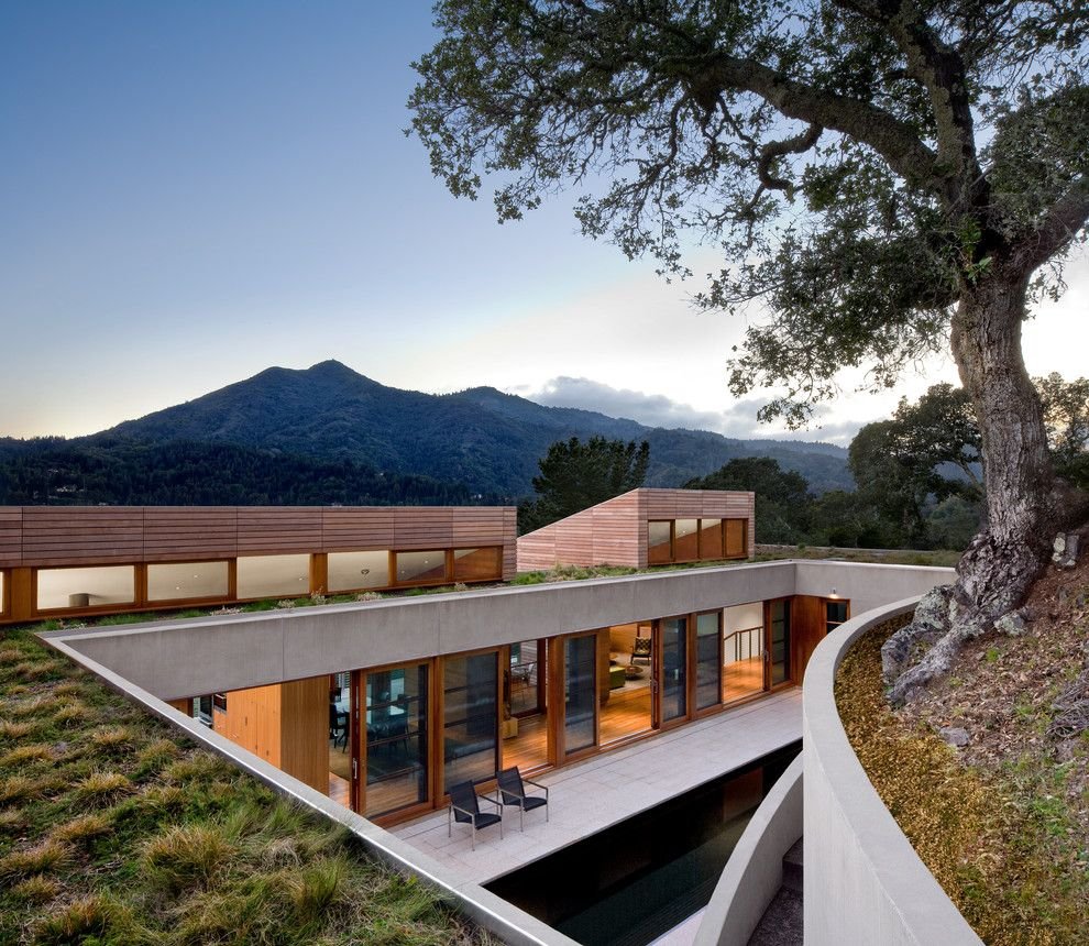 Amazing Homes for a Contemporary Exterior with a Contemporary and a Landscape for Living by Houzz.com