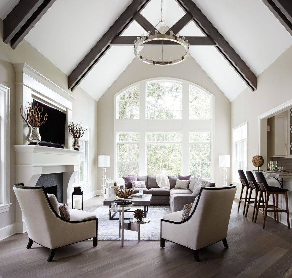 Amazing Homes for a Transitional Living Room with a Custom Builder and Summit Signature Homes, Inc. by Summit Signature Homes, Inc.