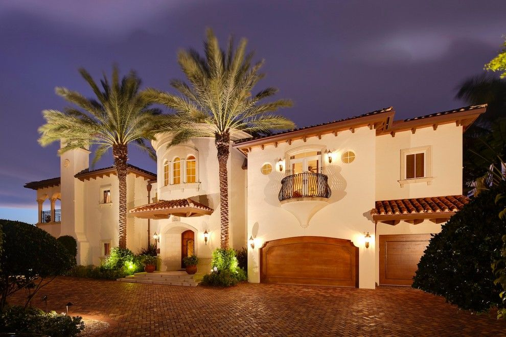Amc Fort Lauderdale for a Mediterranean Exterior with a Mediterranean and Waterfront Home in Fort Lauderdale by W.A. Bentz Construction, Inc.