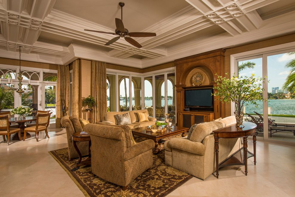 Amc Fort Lauderdale for a Traditional Family Room with a Beige Furniture and Fort Lauderdale by Sarkela Corporation