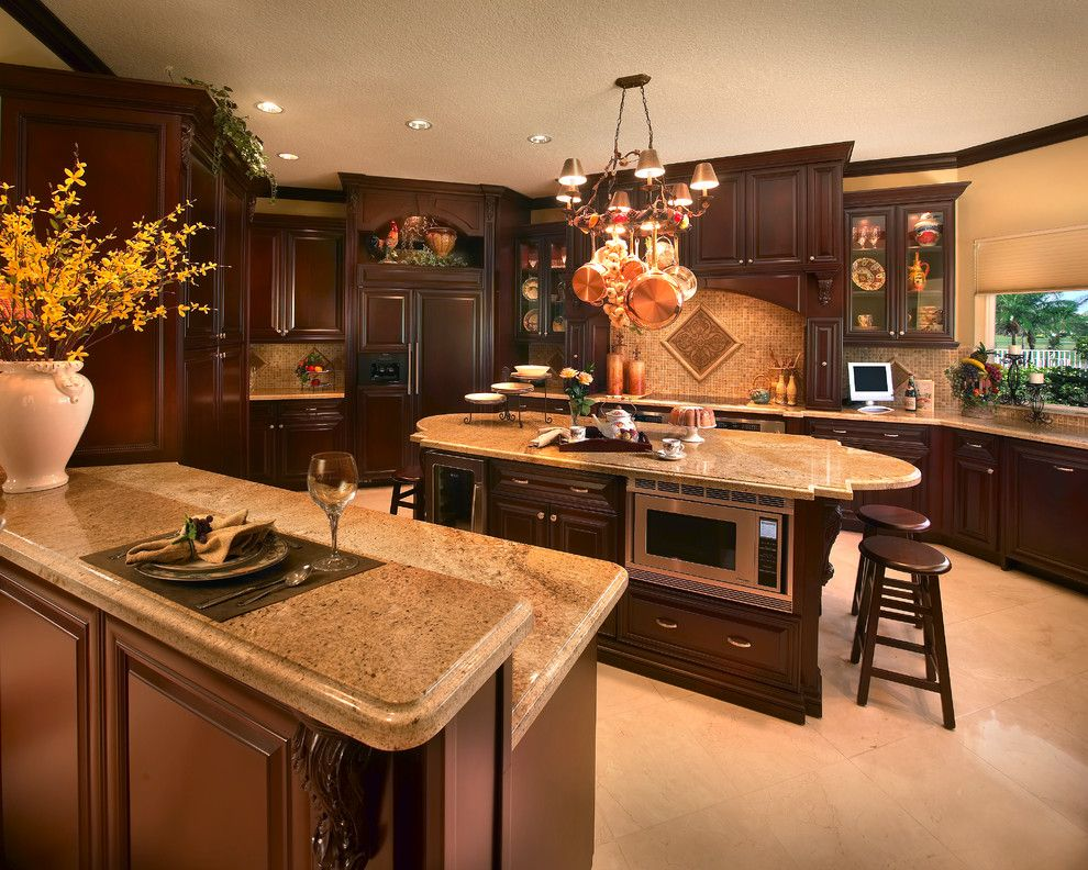 Amc Fort Lauderdale for a Traditional Kitchen with a Traditional and Fort Lauderdale Gated Community by Perla Lichi Design
