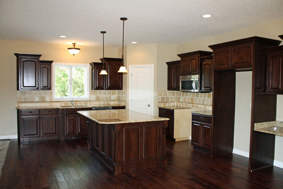 American Freight Columbus Ohio for a Craftsman Kitchen with a Dark and Kitchen Projects by American Heritage Homes
