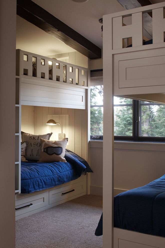 Ana White Loft Bed for a Rustic Kids with a Casement Windows and Rustic Kids by Artisticdesignsforliving.com