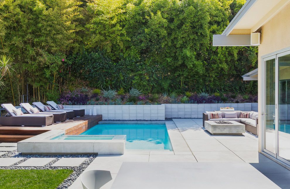 Angelus Block for a Contemporary Landscape with a Dekton and Modern Minimalist by Dp Environments