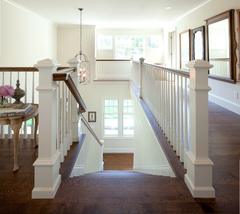 Anixter Center for a Contemporary Staircase with a Traditional and Contemporary Shingle Style by Andrea Swan   Swan Architecture