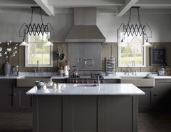 Anixter Center for a Farmhouse Kitchen with a Farmhouse Lighting and Northern Roots Kitchen by Kohler