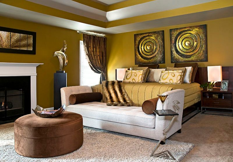 Anjou Pear for a Eclectic Bedroom with a Eclectic and Cozy Bedrooms by Decorating Den Interiors   the Sisters & Company