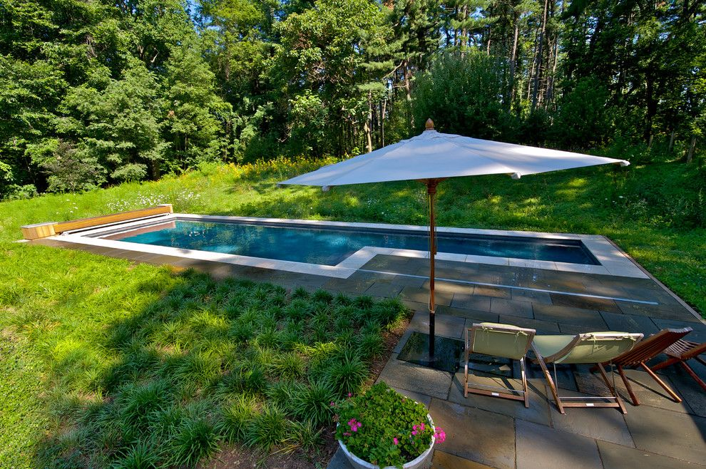 Aquatech for a Contemporary Pool with a Urban and Geometric Elements   East Falls, Pa by Armond Aquatech Pools
