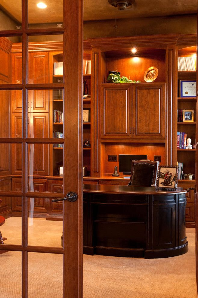 Architectural Millwork for a  Spaces with a Aura and Home Offices & Dens (Desks, Shelves, Tables) by Aura Architectural Millwork