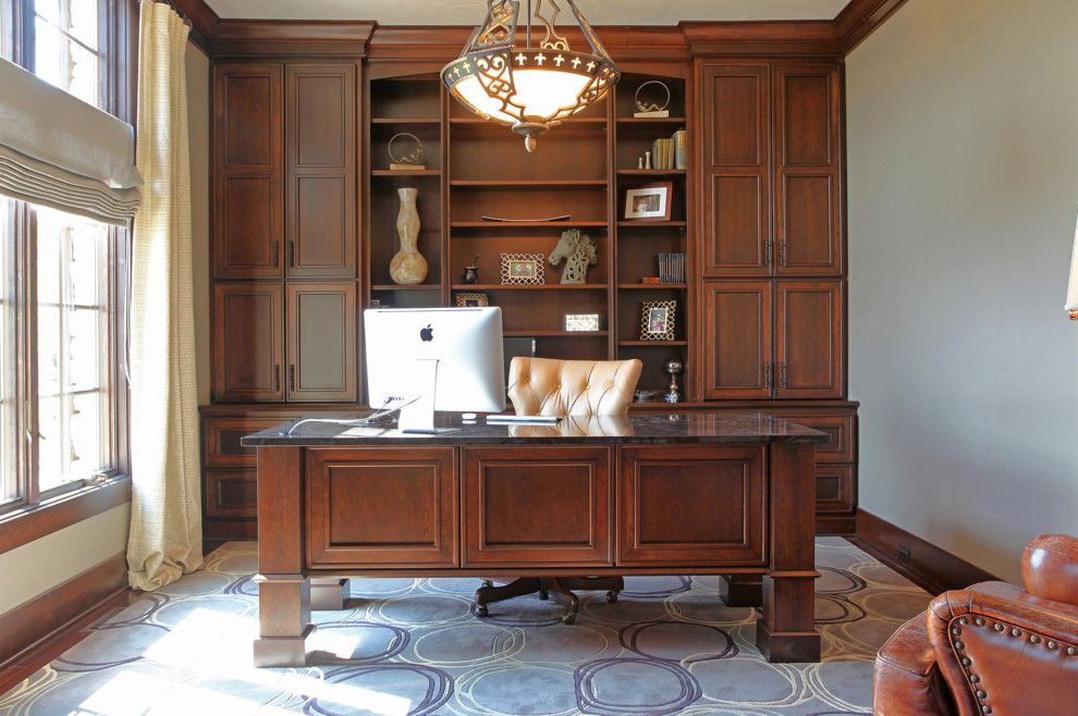 Architectural Millwork for a  Spaces with a Custom and Home Offices & Dens (Desks, Shelves, Tables) by Aura Architectural Millwork