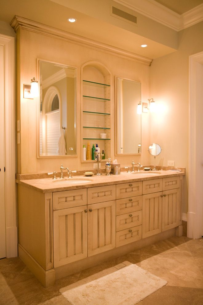 Architectural Millwork for a Traditional Bathroom with a Design and Cottage Estate Home by Radius Architectural Millwork Ltd.