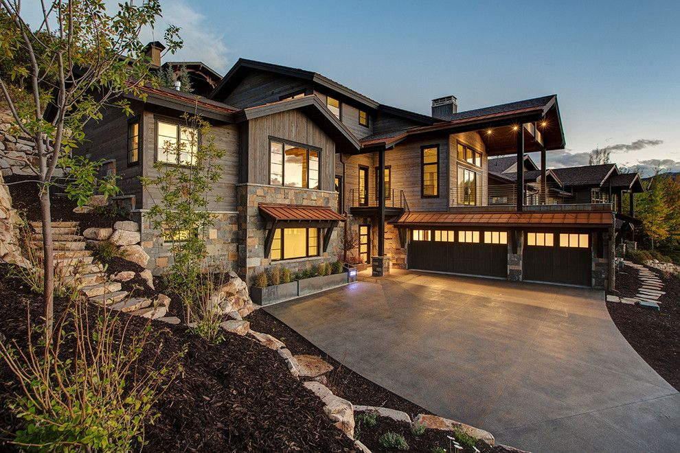 Arenson for a Rustic Exterior with a Park City Mountain Resort and Sunridge by Todd Arenson Construction