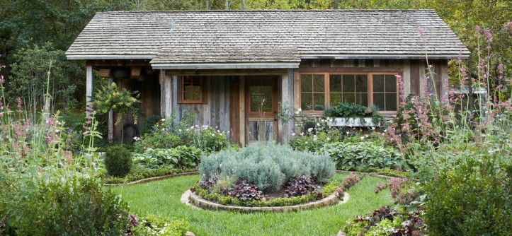 Armstrong Garden Centers for a Farmhouse Landscape with a Garden and Exteriors by Jeff Herr Photography
