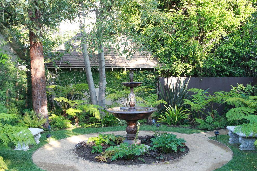 Armstrong Garden Centers for a Mediterranean Landscape with a Grass and Contemporary English Garden by Robinson Environmental Design