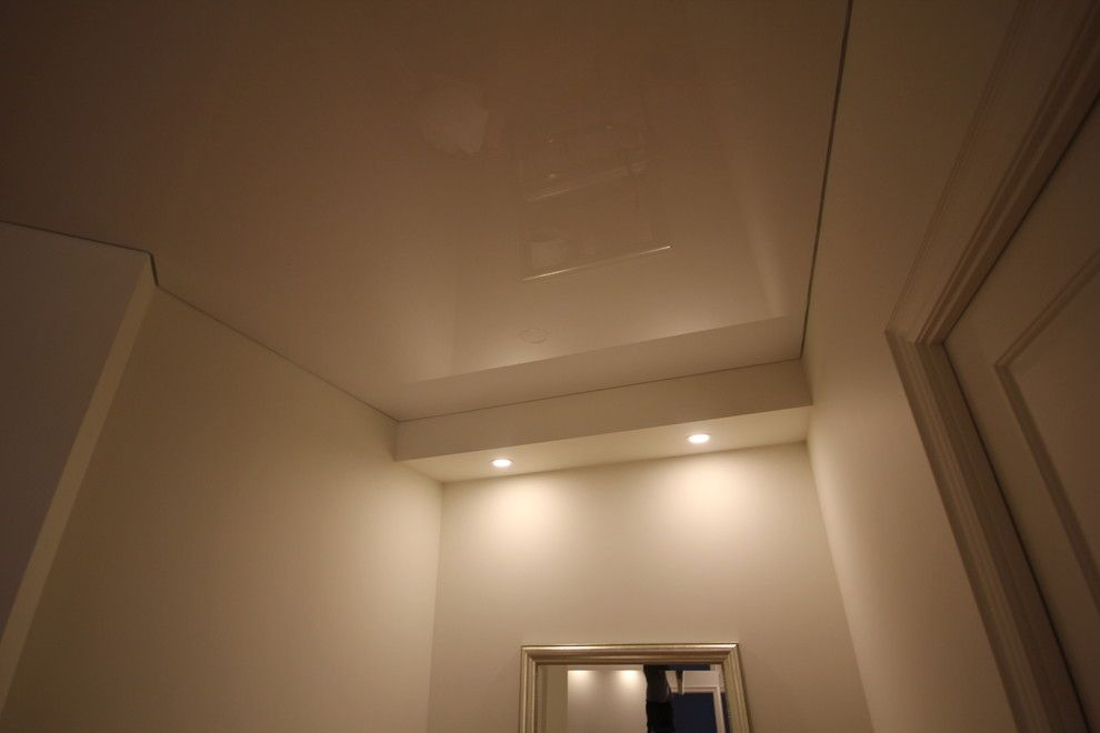 Asbestos Popcorn Ceiling for a Modern Spaces with a Condo Design and Re Modeled Residential Houses by Laqfoil Ltd.