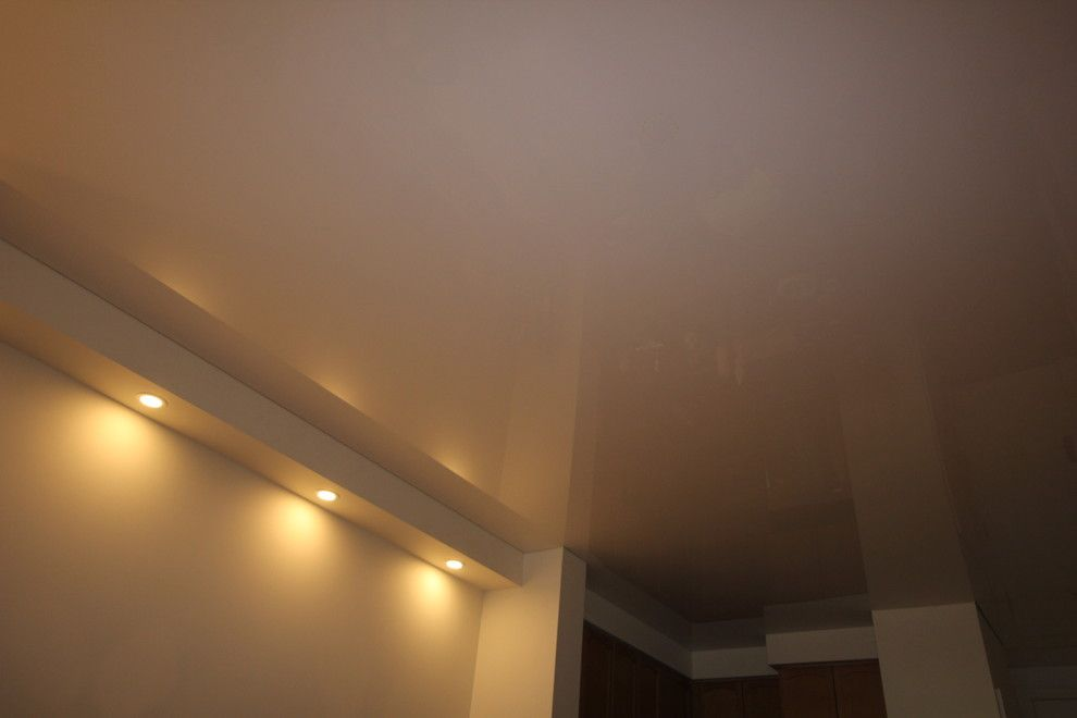 Asbestos Popcorn Ceiling for a Modern Spaces with a High Ceilings and Re Modeled Residential Houses by Laqfoil Ltd.