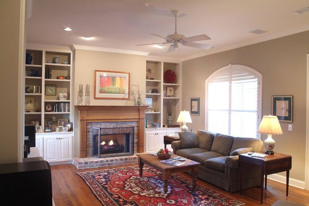 Ashford Homes for a Traditional Family Room with a Family Room and Our Work by Ashford Homes