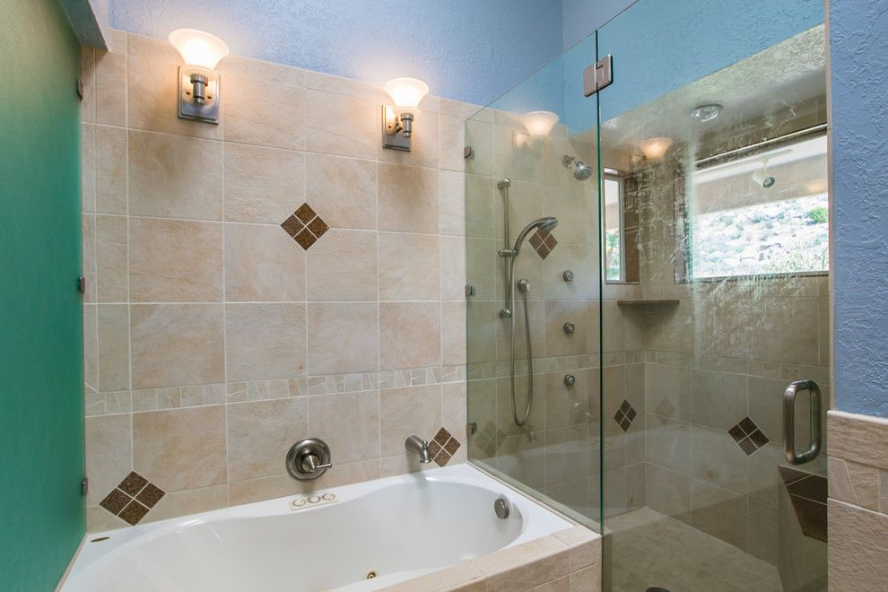 Ashley Furniture Albuquerque for a Contemporary Bathroom with a Staged Home for Sale and South Foothills Home Staging Photos 812 Piedra Vista Ne by Map Consultants, Llc