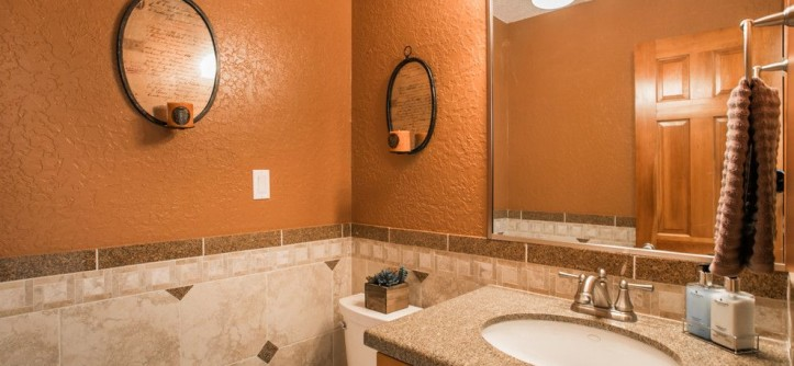 Ashley Furniture Albuquerque for a Contemporary Powder Room with a Cort and South Foothills Home Staging Photos 812 Piedra Vista NE by MAP Consultants, LLC