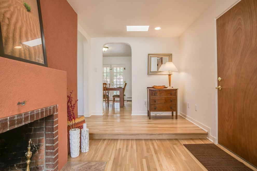 Ashley Furniture Albuquerque for a Midcentury Entry with a Fix and Flip and Remodeled Gem Near Nob Hill, 3614 Calle Del Sol Ne, Abq, Nm  87106, #Homestager by Map Consultants, Llc