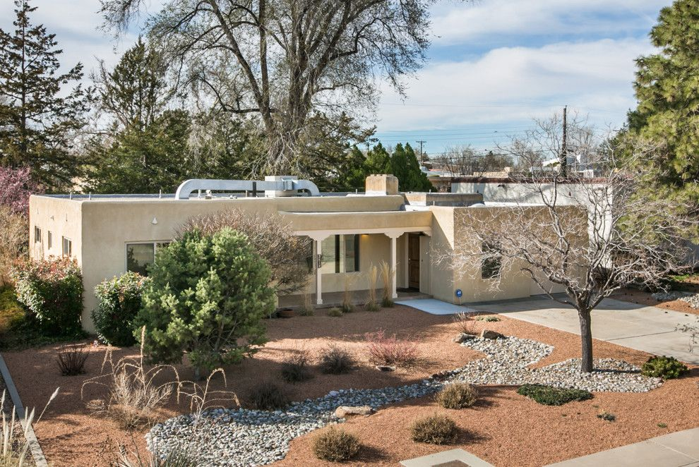 Ashley Furniture Albuquerque for a Midcentury Exterior with a Hardwood Flooring and Remodeled Gem Near Nob Hill, 3614 Calle Del Sol Ne, Abq, Nm  87106, #Homestager by Map Consultants, Llc