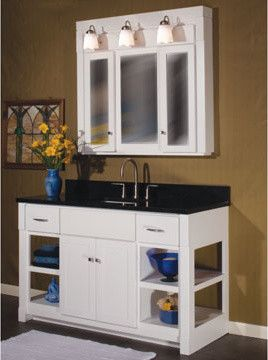 Ashley Furniture Indianapolis for a  Spaces with a  and Woodpro Furniture Vanities by Great Kitchens & Baths