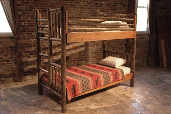 Ashley Furniture Indianapolis for a  Spaces with a Rustic Bed and Beds by Flat Rock Furniture