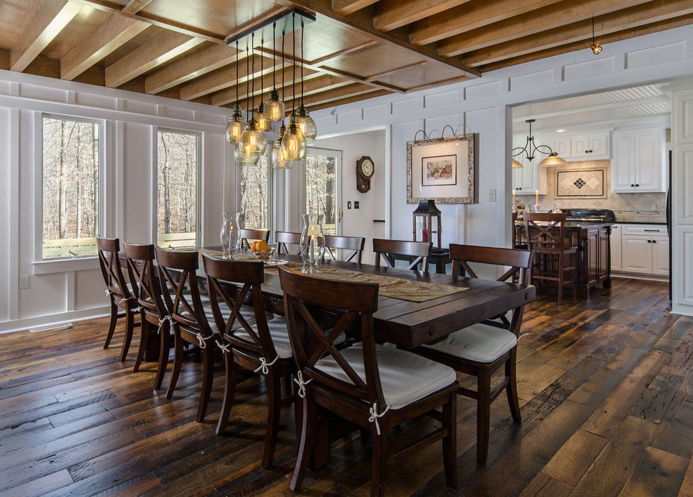 Ashley Furniture Richmond Va for a Farmhouse Dining Room with a Modern Farmhouse and Ashland, Va. Two Story Addition by Reflections Homes