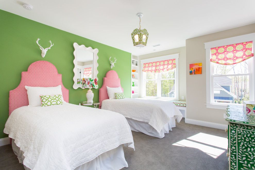 Ashley Furniture Richmond Va for a Transitional Kids with a Gray Carpet and the Pacific 2015 Homearama Showcase Home by River City Custom Homes