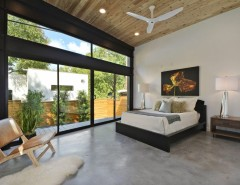 Ashley Furniture Tyler Tx for a Contemporary Bedroom with a Master Suite and Tree House - Austin, TX by MF Architecture
