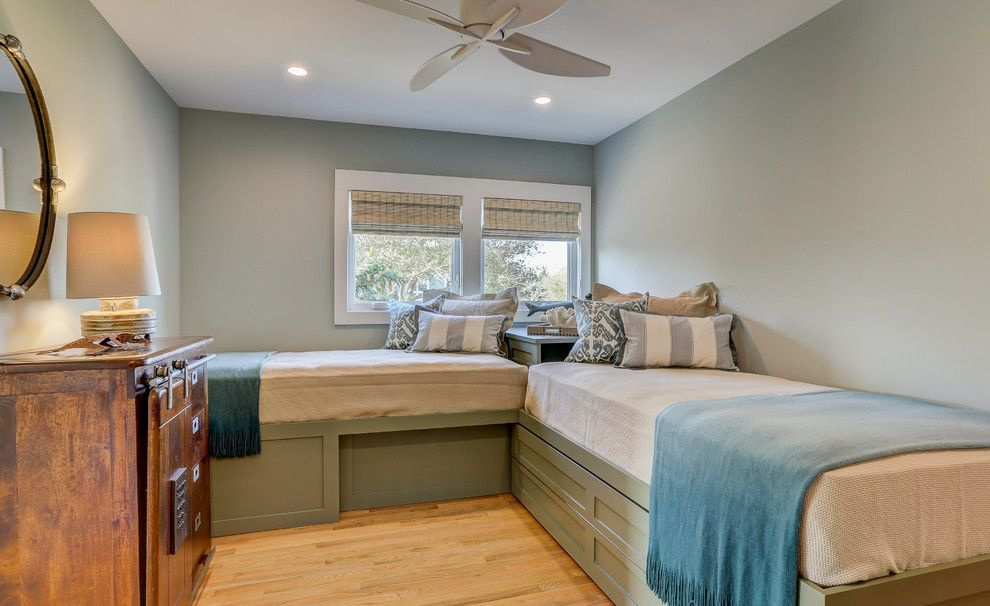 Ashley Furniture Wilmington Nc for a Contemporary Bedroom with a Waterfont and Inlet View by Schmidt Custom Builders