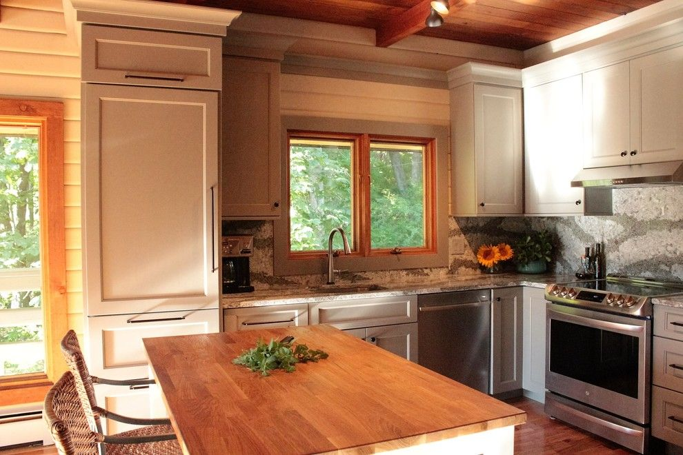 Asko Appliances for a  Kitchen with a Cambria Galloway and Spencer Hill by Dina Graham Design